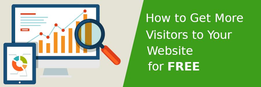 Get more website visitors for free